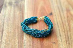 Bead and Chain Braid   24 Super Easy DIY Bracelets
