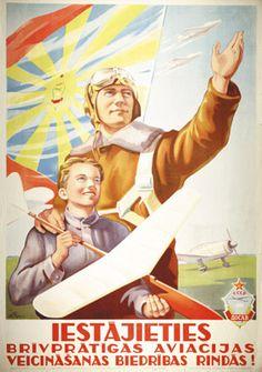 latvian poster