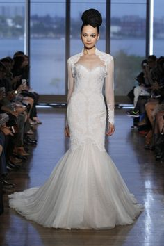 Ines Di Santo Wedding Dresses - Fall and Winter 2014 Bridal Collection  Airlia Wedding Dress