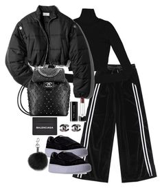 """""""Untitled #4816"""" by theeuropeancloset on Polyvore featuring 3.1 Phillip Lim, Puma, Marc Jacobs, Balenciaga and Rebecca Minkoff"""