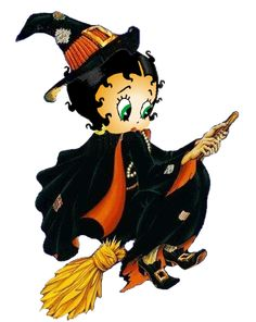 Betty Boop Witch