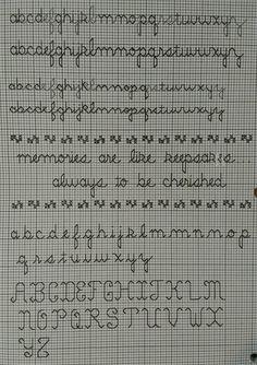 Cross Stitch Alphabet Patterns, Cross Stitch Letters, Cross Stitch Boards, Cross Stitch Needles, Blackwork Cross Stitch, Cross Stitching, Cross Stitch Embroidery, Free Cross Stitch Charts, Cross Stitch Quotes