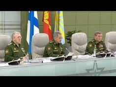 Сергей Шойгу представил новинки вооружения российской армии.Последние но...