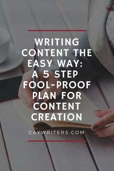 Writing content the easy way: A fool-proof plan for content creation. Writing content tips to make writing easy and write everyday. Blog Writing Tips, Blog Tips, Writing Prompts, Writing Ideas, Writing Advice, Writing Skills, Job Freelance, Freelance Writing Jobs, Content Marketing Strategy