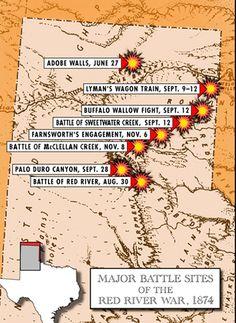 Red River War Battles, courtesy Texas Beyond History Native American Wisdom, Native American Artifacts, Native American Tribes, Native American History, American Civil War, American Indians, Indian Tribes, Native Americans, Comanche Warrior