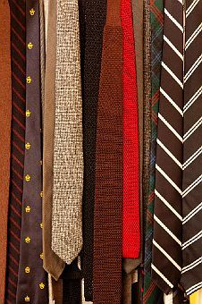 The Selby: Michael Hainey & Brooke Cundiff. Skinny Tie Collection