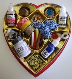 What crafters REALLY want for Valentine's Day. {From CraftTestDummies.com} (scheduled via http://www.tailwindapp.com?utm_source=pinterest&utm_medium=twpin&utm_content=post28111022&utm_campaign=scheduler_attribution)