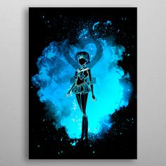 Soul of Mercury by Donnie Poster Prints, Art Prints, Posters, New Artists, Beautiful Soul, Cool Artwork, Trees To Plant, Mercury, Darth Vader