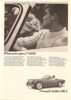 1965 Triumph Spitfire Mk 2 Advertisement Newsweek May 3 1965   Flickr - Photo Sharing!