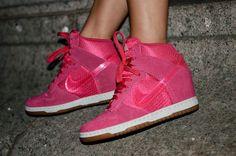 Nike Dunk Ski High Sneaker Wedges  The Haute Blonde- Fashion & Beauty Blog: Nike Barbie  Barbie Pink