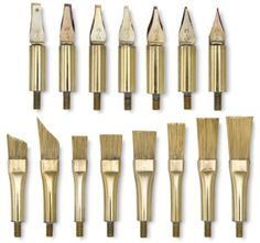Hot Tool Attachments for encaustic painting