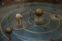 Orrery in the Whipple Museum, Cambridge ~ by hchalkley, via Flickr