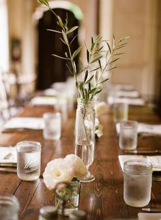 Floral arrangements  with herbs