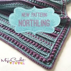 The #northlingblanket pattern is now available on my blog. This blanket can be made in any size with any hook and yarn.
