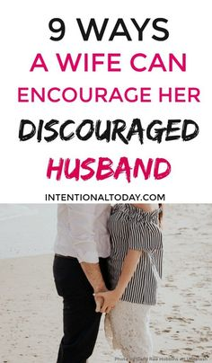 How do you help when your husband is discouraged? It's easy to feel down too but here are 9 steps to take as a wife when your husband is discouraged. Intimacy In Marriage, Marriage Relationship, Happy Marriage, Marriage Advice, Love And Marriage, Newlywed Advice, Relationship Therapy, Quotes Marriage, Mom Advice