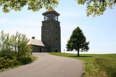 Quabbin Reservoir Tower | The Quabbin Observation Tower offers spectacular panoramic views.