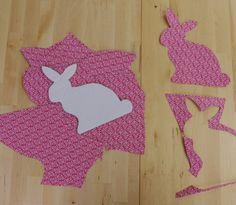 Ostern Basteln Häschen Hasen Anleitung ausschneiden 1
