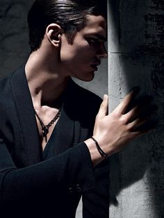 Simon Nessman by Mario Sorrenti