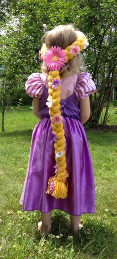 Rapunzel Hair by RileyJInspired on Etsy, $28.00