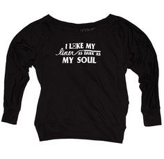 """""""DARK SOUL"""" OFF SHOULDER TOP from TIME LOS ANGELES  I need this"""