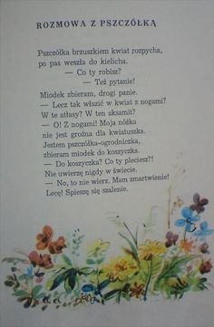 Użyj STRZAŁEK na KLAWIATURZE do przełączania zdjeć Polish Language, Babysitting, Diy For Kids, Your Child, Montessori, Diy And Crafts, Homeschool, Poems, Bee