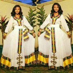 #beautifulhabeshadress #style #longhabeshakemis #ethiohabeshakemis #ethiochurchclothing #ethiopianladiesfashion #yellowfashiondress  #zuriaethiopianclothing #handwoven #embroider #handmadeclothing