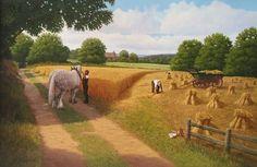 Harvest Time by Philip Gerrard