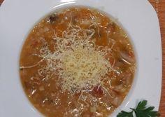 Olasz zöldséges bableves