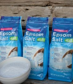 15 Reasons Why You Need To Store Epsom Salts