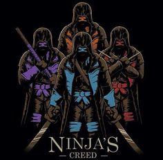 Ninja turtles/assassins creed