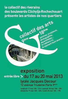 exposition Collectif des Arts - mai 2013