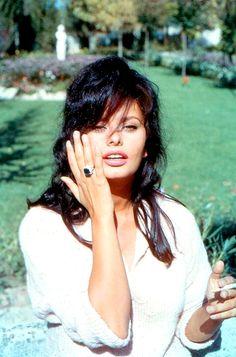 Sophia Loren photographed by Angelo Frontoni