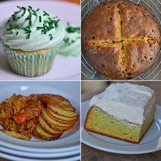 Gluten Free St. Patrick's Day Menu Gluten Free Sweets, Gluten Free Recipes, Irish Recipes, Sweet Recipes, St Patricks Day Food, Gluten Free Living, Foods With Gluten, Savoury Dishes, Chocolate Recipes