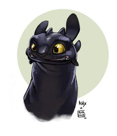 """Toothless is like, """"Say what?"""""""