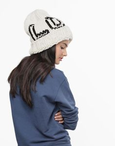 Wool and the Gang Love Me Beanie: http://www.stylemepretty.com/living/2016/01/29/cute-cold-weather-accessories/: