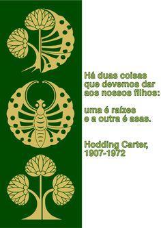 File:Á duas coisas que devemos dar aos nossos filhos - uma é raízes e a outra é asas. Hodding Carter, 1907-1972.svg
