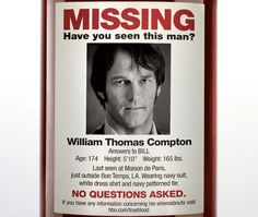 Related image Horror Themes, Missing Persons, Have You Seen, This Man, The Outsiders, Image, Good Times