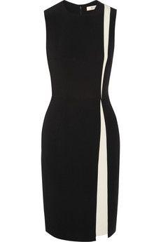 Etro Two-tone stretch-jersey dress | NET-A-PORTER