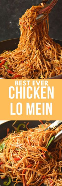 Try this best ever-better than restaurants Chicken Lo Mein! Better than takeout chicken lo mein recipe is very easy and so good! food recipes beef lo mein The Ultimate Spicy Chicken Lo Mein Recipe Spicy Chicken Lo Mein Recipe, Pf Changs Lo Mein Recipe, Hibachi Chicken And Noodles Recipe, Lo Mein Noodle Sauce Recipe, Pf Changs Noodles Recipe, Chow Lo Mein Recipe, Chicken Chow Mein, Spicy Chicken Recipes, Recipe Chicken