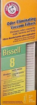 BISSELL VACUUM CLEANER FILTER, 8 and14, LIFT-OFF REVOLUTION VELOCITY MOMENTUM