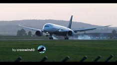 Slow Motion Sunset Landing Planespotting @ Zurich Airport 24.April 2018 24. April, Dream L, Zurich, Landing, Youtube, Aviation, Aircraft, Soundtrack, Sunset