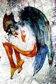 Mixed Media Art by Alex Cherry