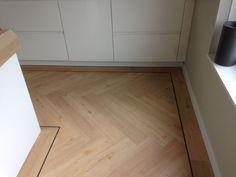 Visgraat PVC vloer - Parketmeester
