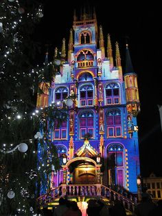 christmas in gouda by hans bax the city hall of gouda every ten minutes