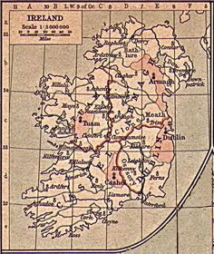 Irish Genealogy and Geography - Diocese Map