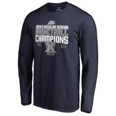 b5fab0a6aa67 Xavier Musketeers Fanatics Branded 2018 Big East Men's Basketball Regular  Season Champions Long Sleeve T-Shirt – Navy