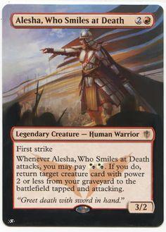 Alesha Who Smiles at Death