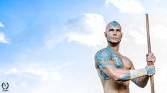 Adult Aang - Avatar: The Last Airbender by Elffi on DeviantArt Avatar Aang, Avatar The Last Airbender, A Kon, Avatar Cosplay, Korra, Anime Figures, Adulting, Body Painting, Fan Art