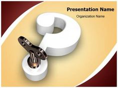 Ball bearing parts powerpoint template is one of the best powerpoint 3d question mark key powerpoint template is one of the best powerpoint templates by editabletemplates toneelgroepblik Image collections