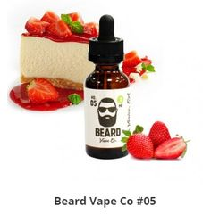 Ever wanted to drop everything and enjoy a slice of NY style cheesecake with strawberries on top? Well, now you can with Beard Vape Co. NO. 05. Click the link for Beard Vape Co Flavor #5 Review and Coupon.  #BeardVapeCoFlavor5Review